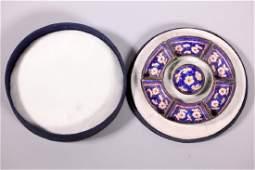 Rare Chinese 18 C Canton Enamel Painting Trays