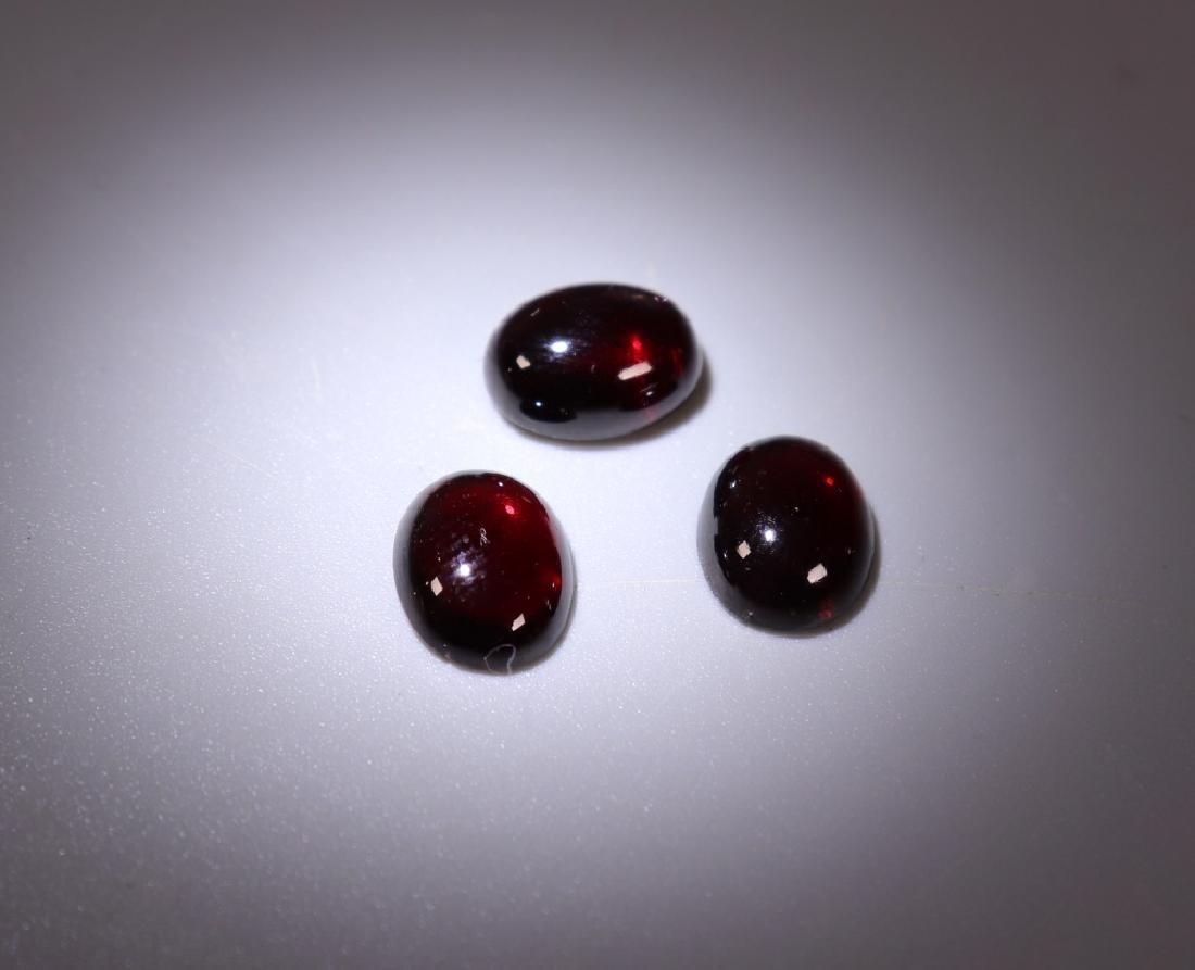 42 Gemstones; Star Sapphire Amethyst Tiger Eye Etc - 3