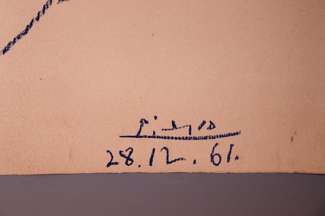 Pablo Picasso; Peace Dove Serigraph 1961 - 2