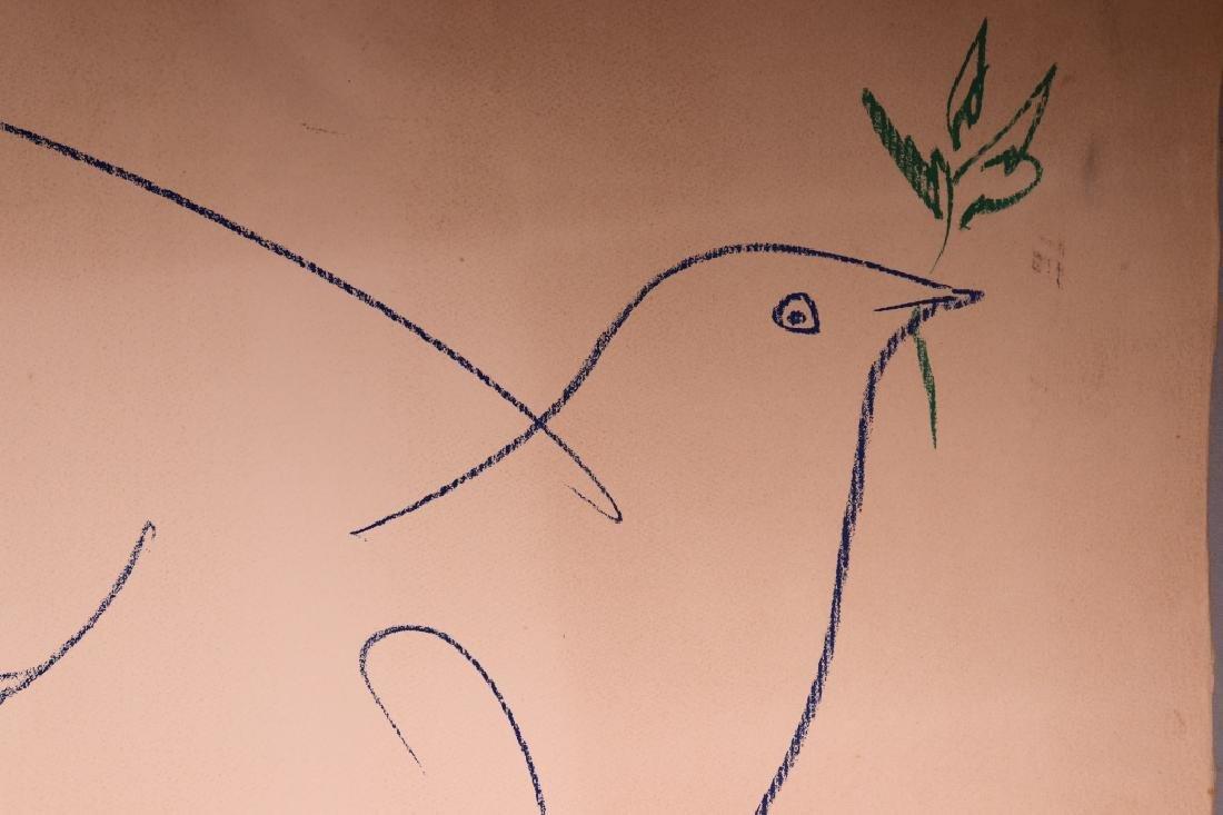 Pablo Picasso; Peace Dove Serigraph 1961 - 3
