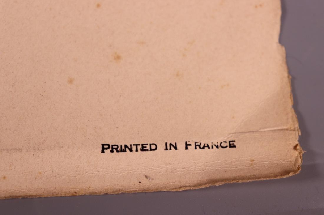 Pablo Picasso; Peace Dove Serigraph 1961 - 6