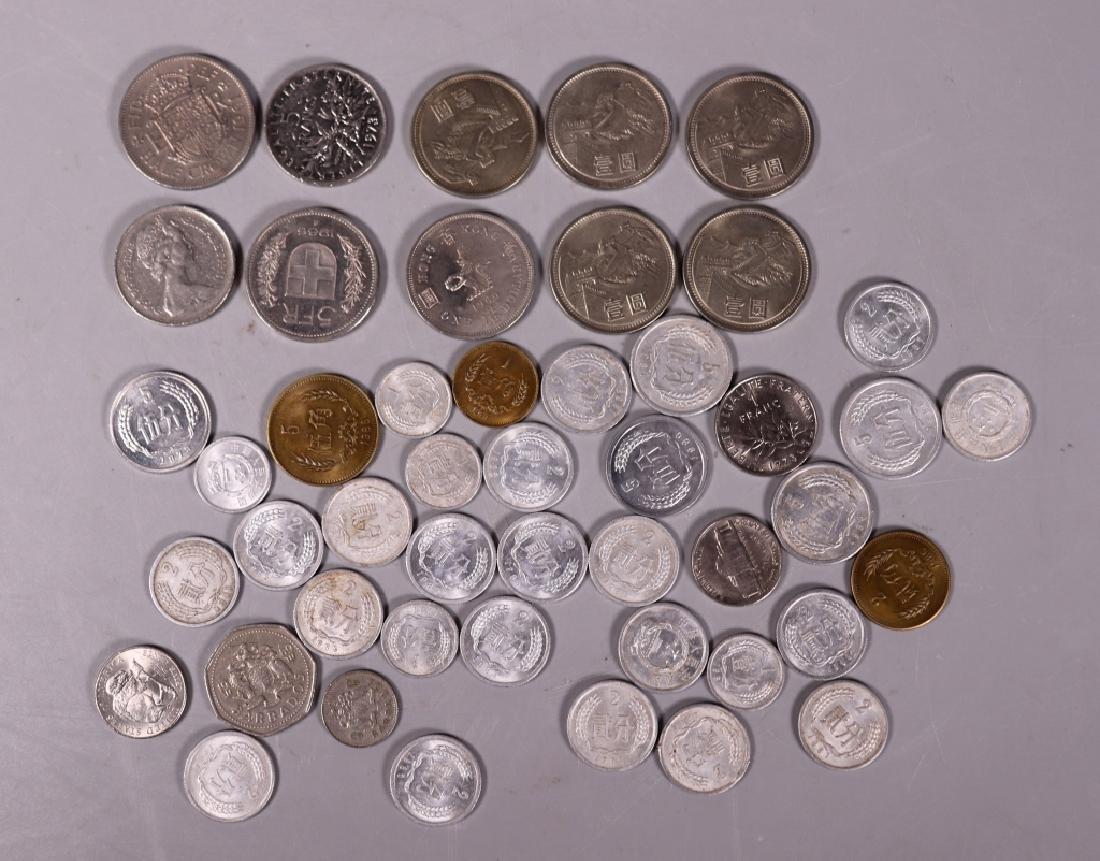 47 Coins, 37 Chinese, 1 Hong Kong 1960, Etc.