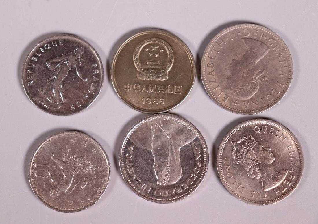 47 Coins, 37 Chinese, 1 Hong Kong 1960, Etc. - 5