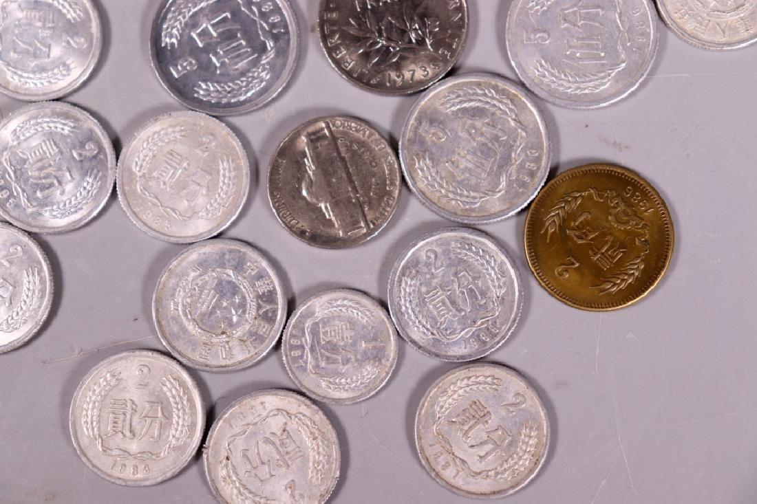 47 Coins, 37 Chinese, 1 Hong Kong 1960, Etc. - 6