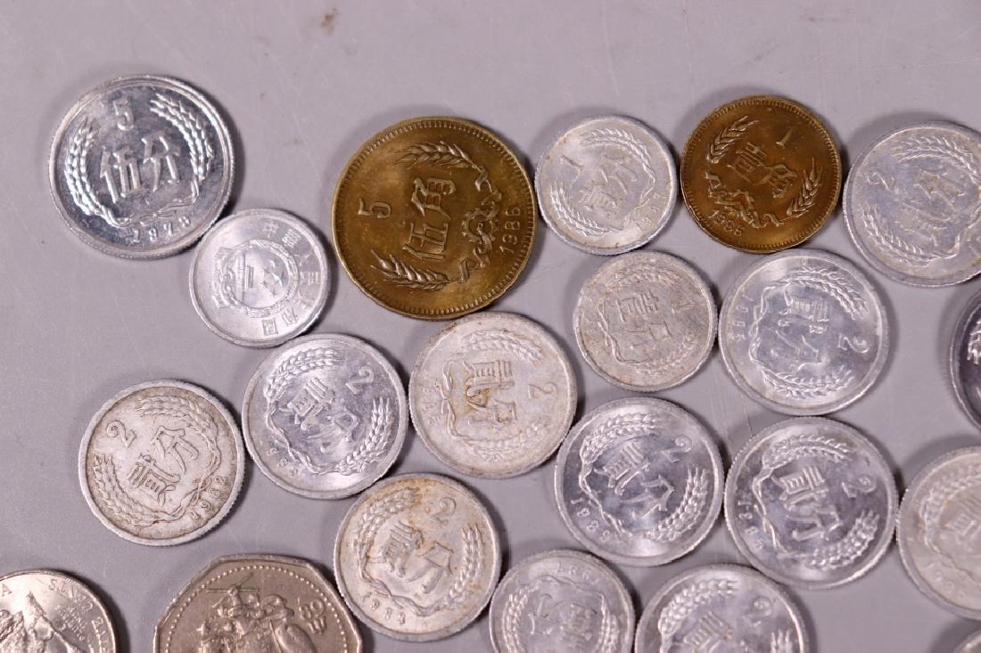 47 Coins, 37 Chinese, 1 Hong Kong 1960, Etc. - 7