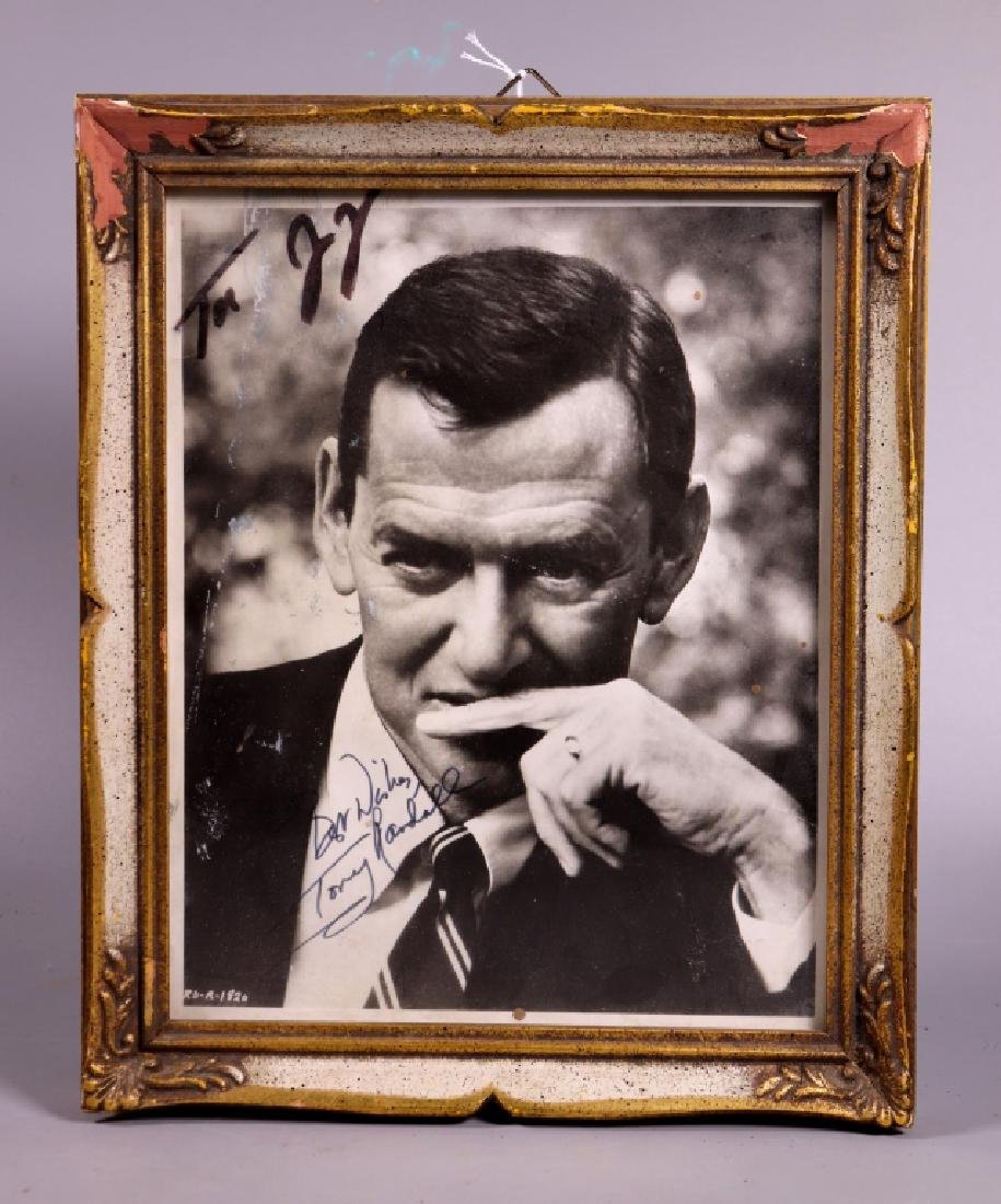 "Signed Photograph of Tony Randall ""Odd Couple"""