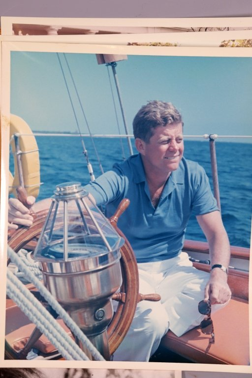 4 J F Kennedy Vintage Photographs, 1 L B Johnson - 4