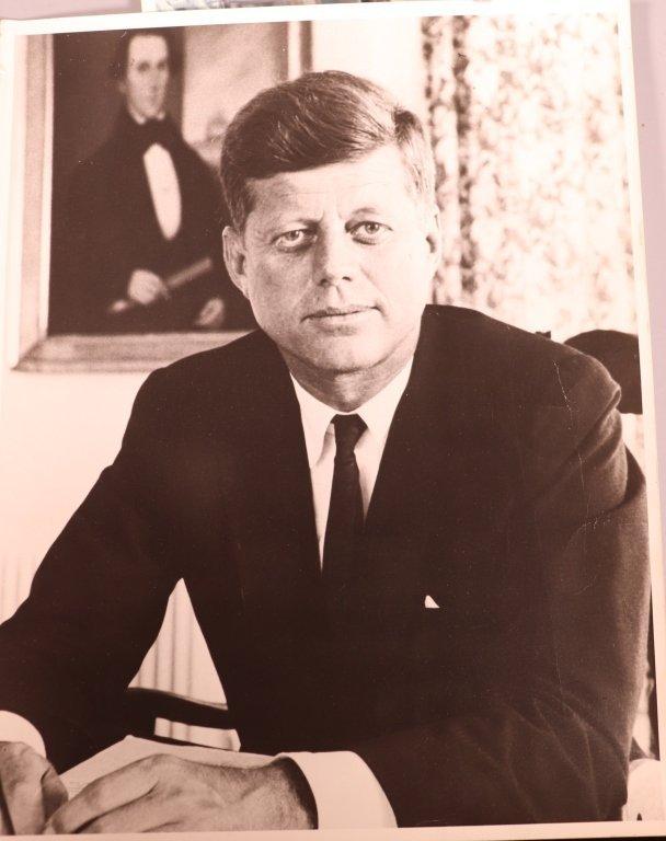 4 J F Kennedy Vintage Photographs, 1 L B Johnson - 5