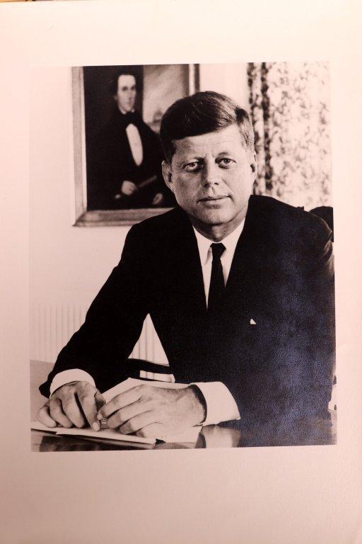 4 J F Kennedy Vintage Photographs, 1 L B Johnson - 6