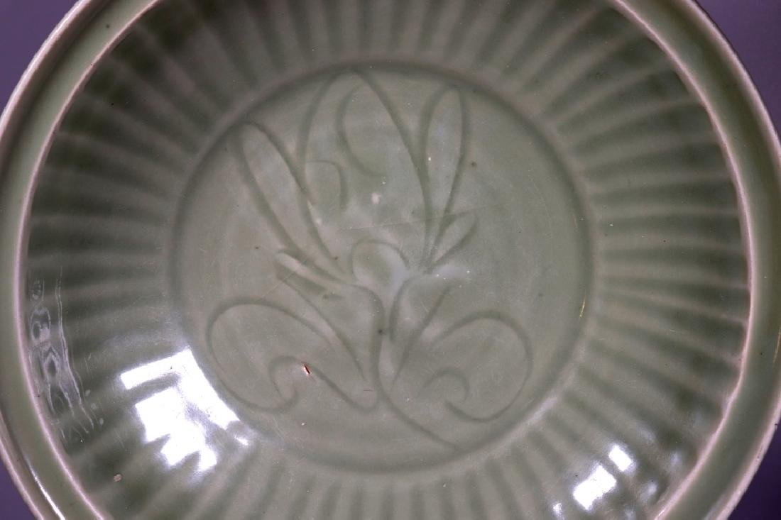 Chinese Ming Dynasty Longquan Celadon Large Plate - 2