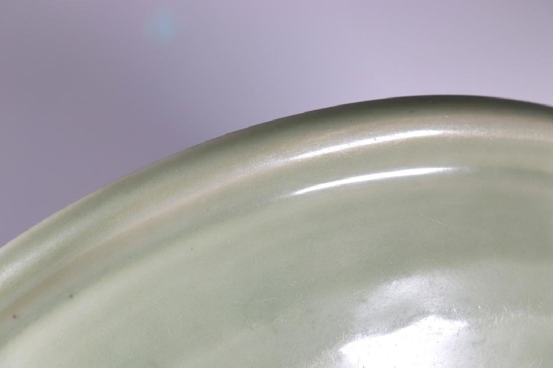 Chinese Ming Dynasty Longquan Celadon Large Plate - 9