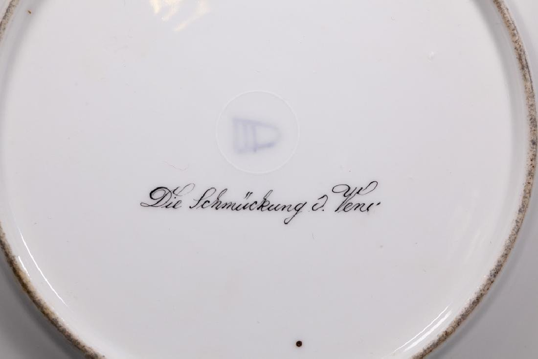 Royal Vienna Type Painted Porcelain Plate - 3