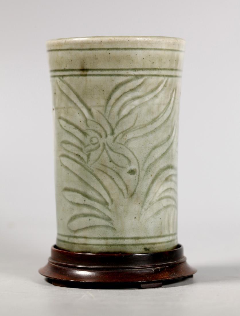 Chinese Ming Longquan Celadon Porcelain Bitong