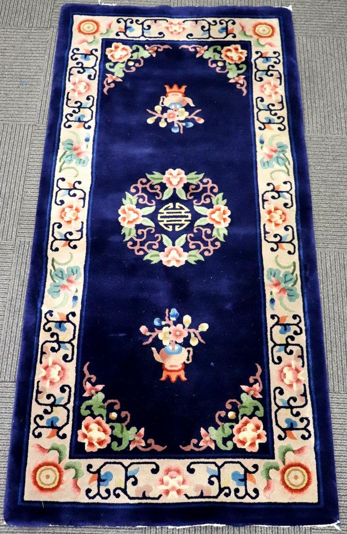Chinese Cut Wool Thick Pile Carpet