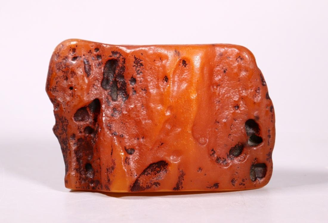 Large Chinese Butterscotch Amber Specimen 350G