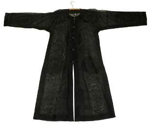 Rare Chinese Qing Dynastry Gauze Summer Coat