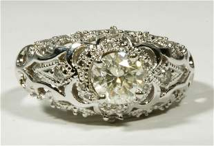 Diamond & White Gold 18K Ring