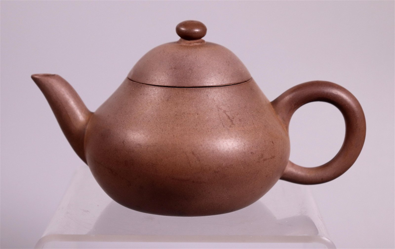 Chinese 19 C Yixing Teapot, Incised Base