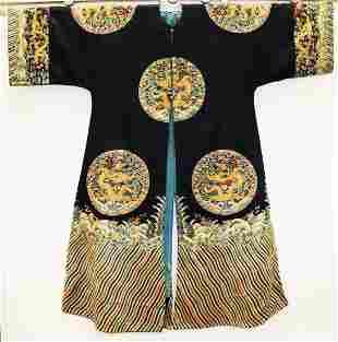 Rare 18 C Imperial Chinese High Concubine Coat