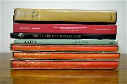 7 Books on Chinese Jade & Works of Art