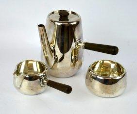 A. Michelsen Denmark Sterling Silver Coffee Set