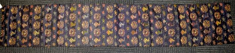 18th C Chinese Imperial Silk Brocade 5Claw Dragon