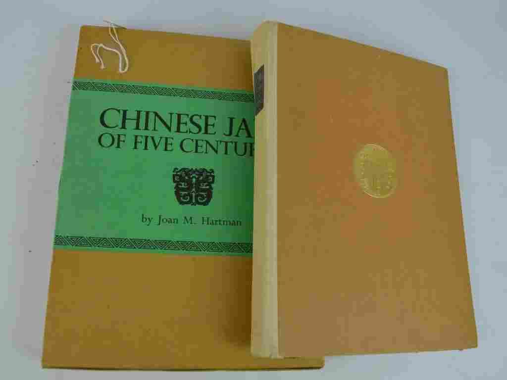 Hartman, Chinese Jade; Kummel, Die Kunst Ostasiens