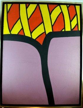 Nicholas Krushenick; 1962, Fischbach Gallery