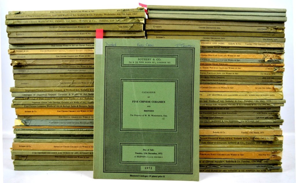 71 - Rare Sotheby's London Chinese Catalogues