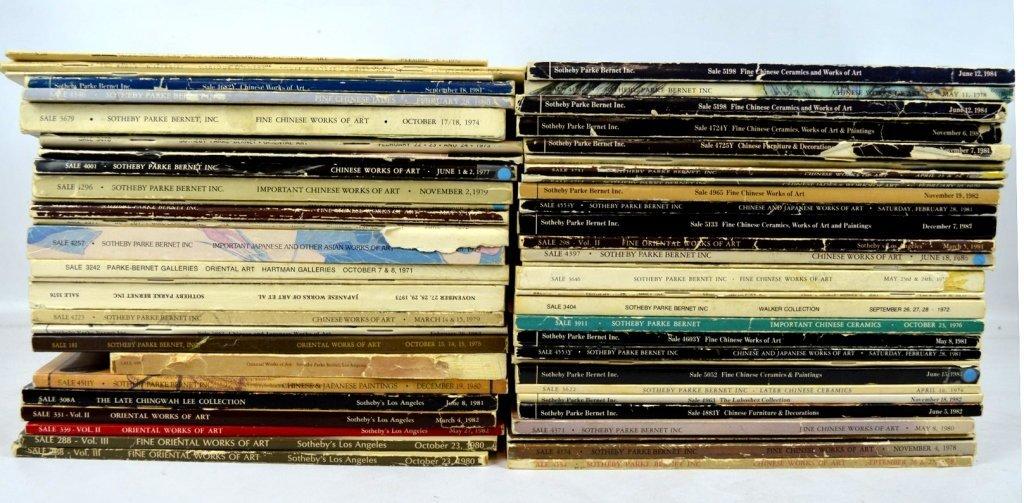 57 - Sotheby's & Parke Bernet NY & LA Catalogues