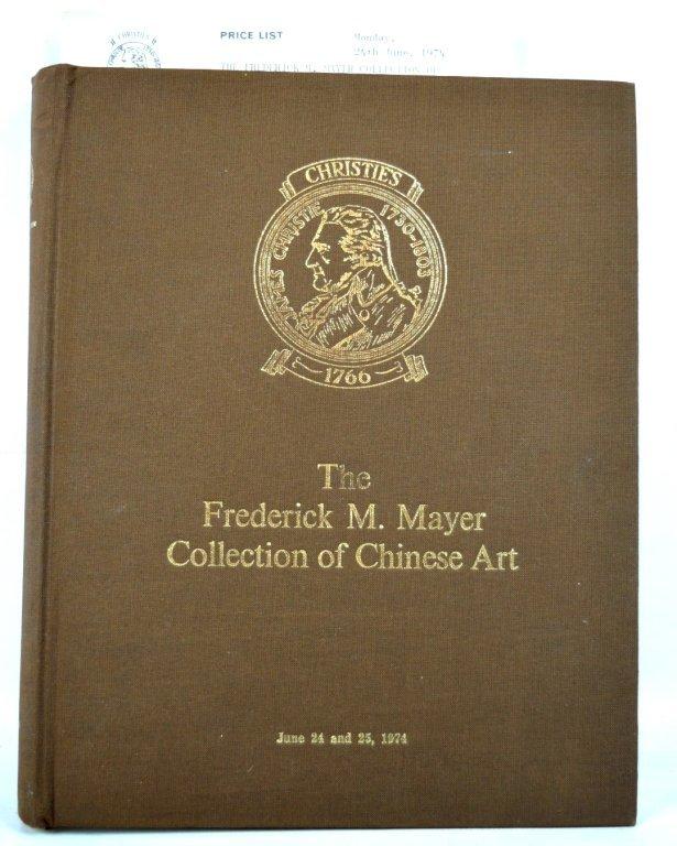 Christie's London Frederick M Mayer Catalogue