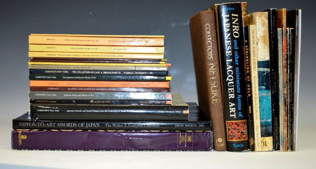 28 Books & Auction Catalogues Japanese Art