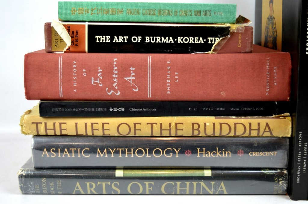 12 Books on Chinese Art & History - 2