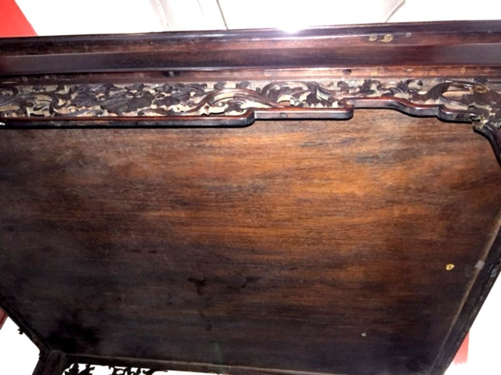 Metropolitan Museum; Chinese Hardwood High Table - 10