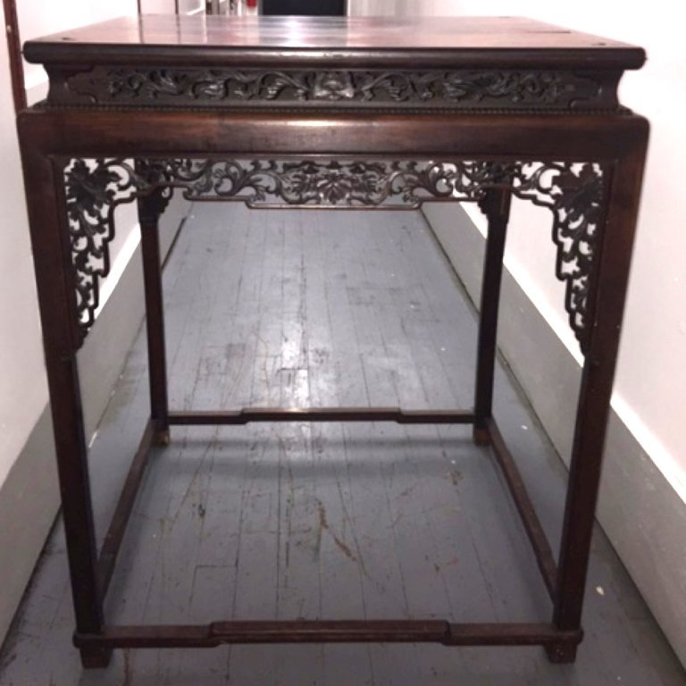Metropolitan Museum; Chinese Hardwood High Table