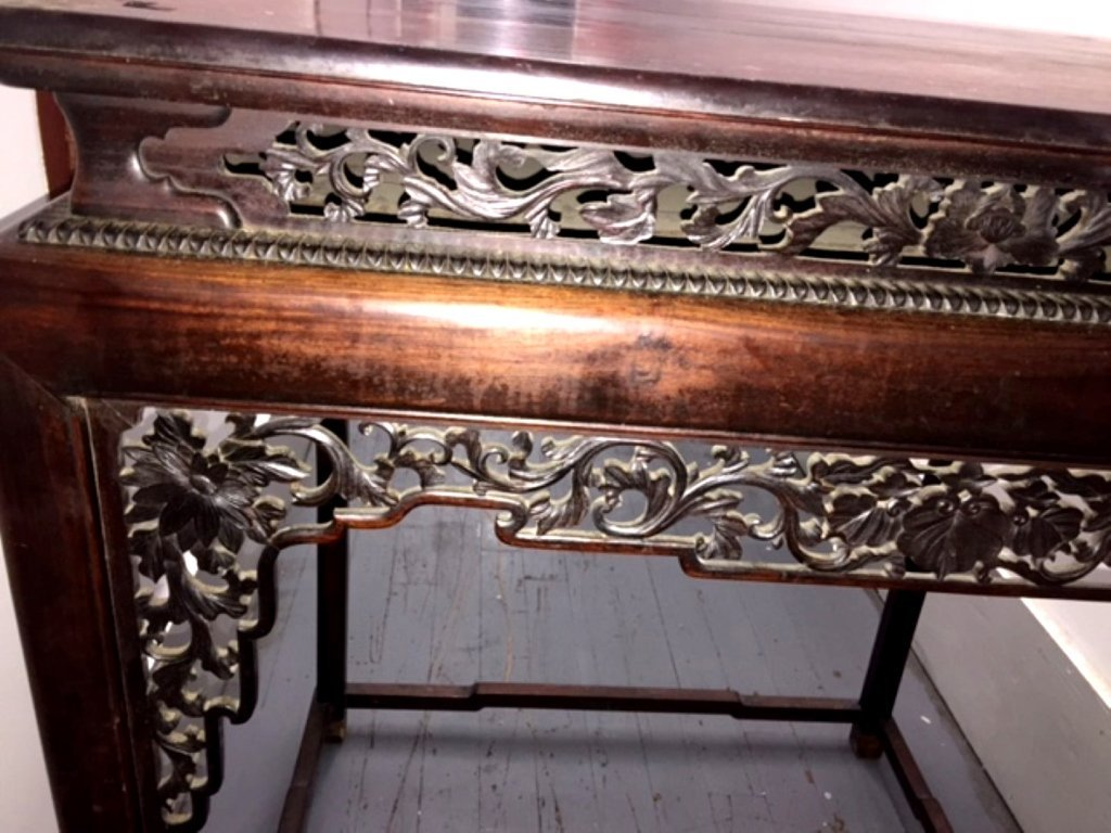 Metropolitan Museum; Chinese Hardwood High Table - 2