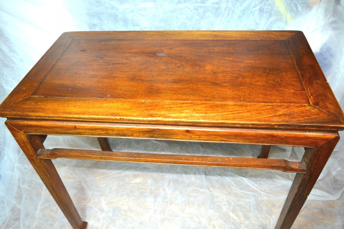 Qing Chinese Hardwood Scholar's Table - 2