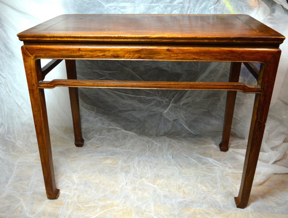 Qing Chinese Hardwood Scholar's Table - 3