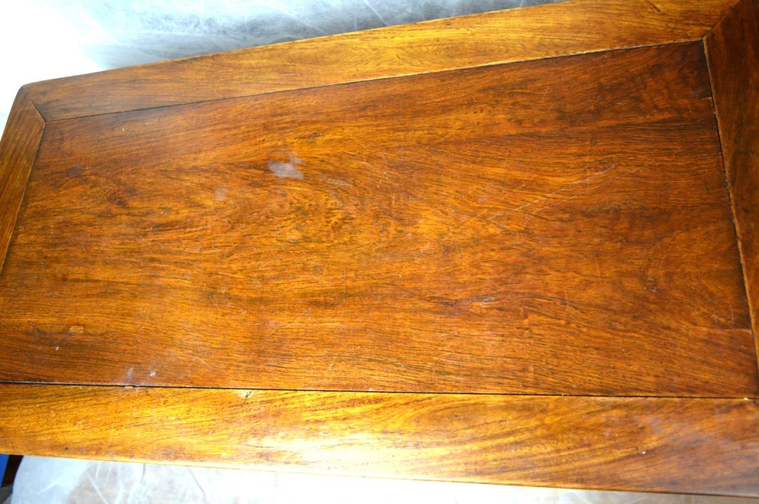 Qing Chinese Hardwood Scholar's Table - 6
