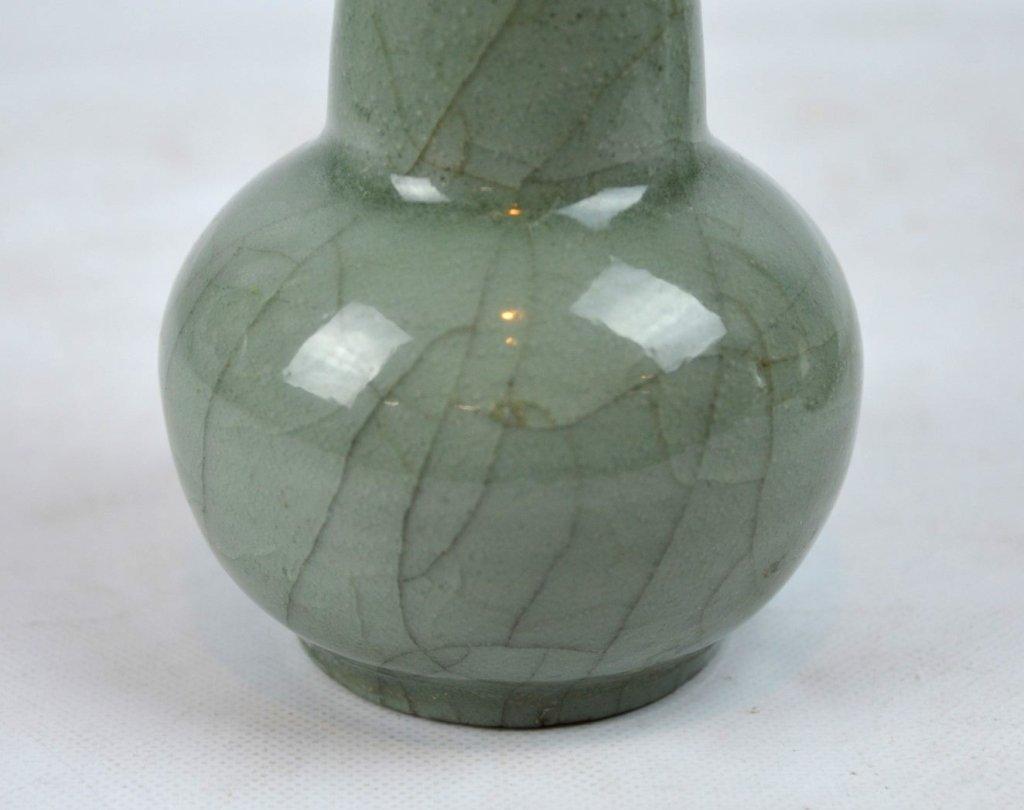 2 - Antique Chinese Celadon Porcelain Vases - 5