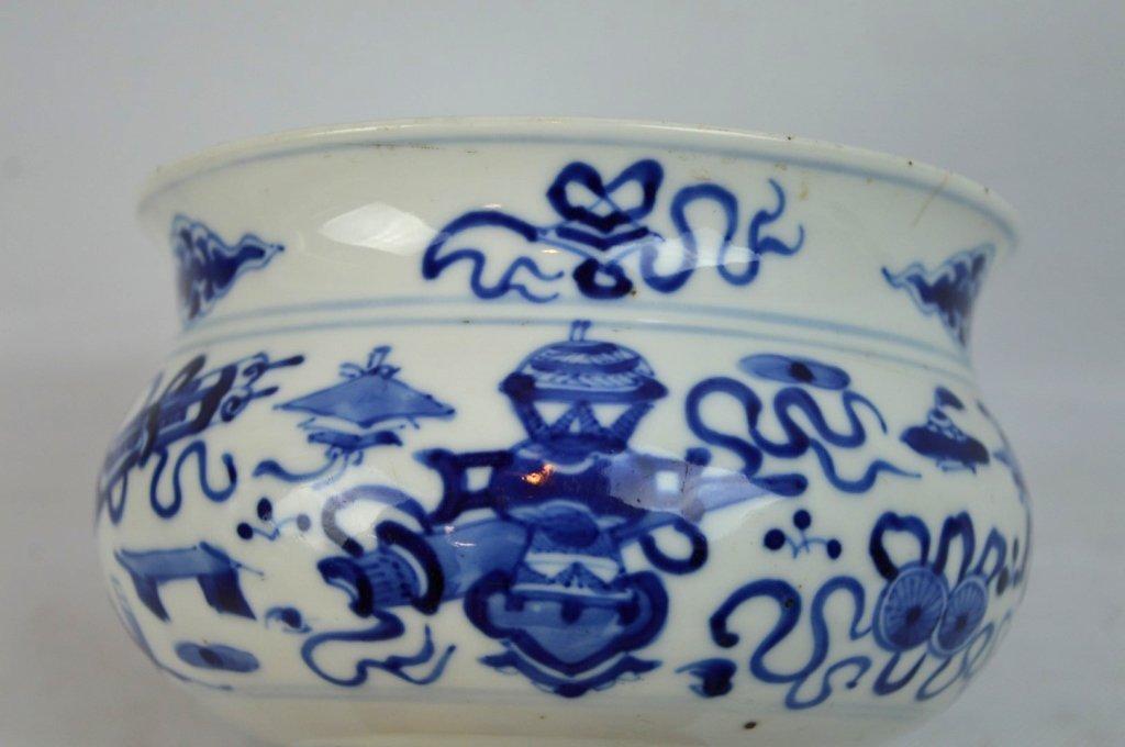 3 - 19th C Chinese Underglaze Blue Porcelains - 10
