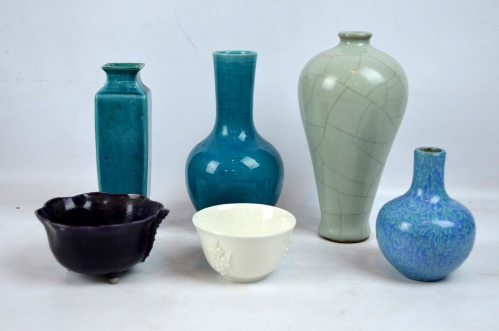 6 - Fine 18th/19th C Chinese Porcelain Monochromes