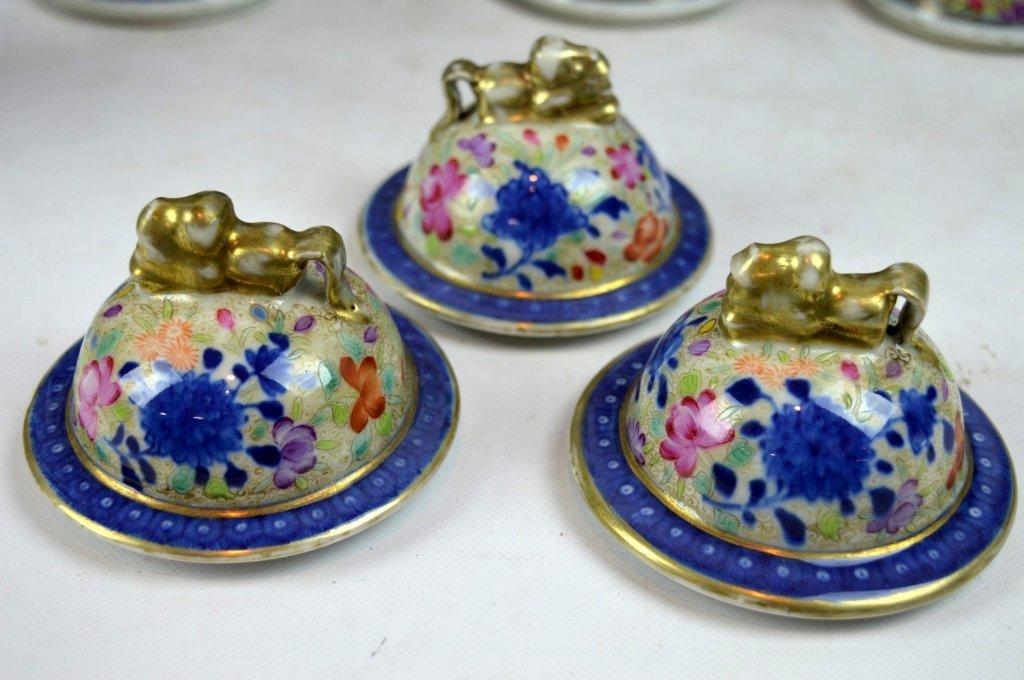 19thC Chinese Export 5-Piece Porcelain Garniture - 6
