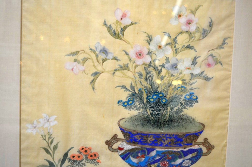 3 - Finely Detailed Chinese Paintings on Silk - 2