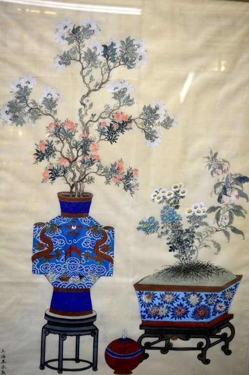 3 - Finely Detailed Chinese Paintings on Silk - 7