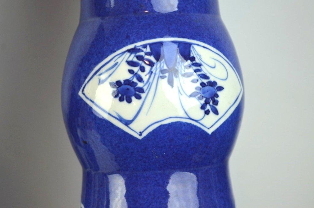 Christie's- Pr Kangxi Chinese Porcelain Vases - 5