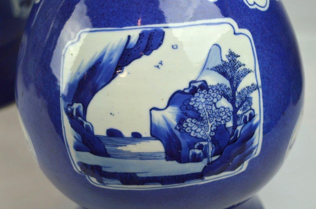 Christie's- Pr Kangxi Chinese Porcelain Vases - 6
