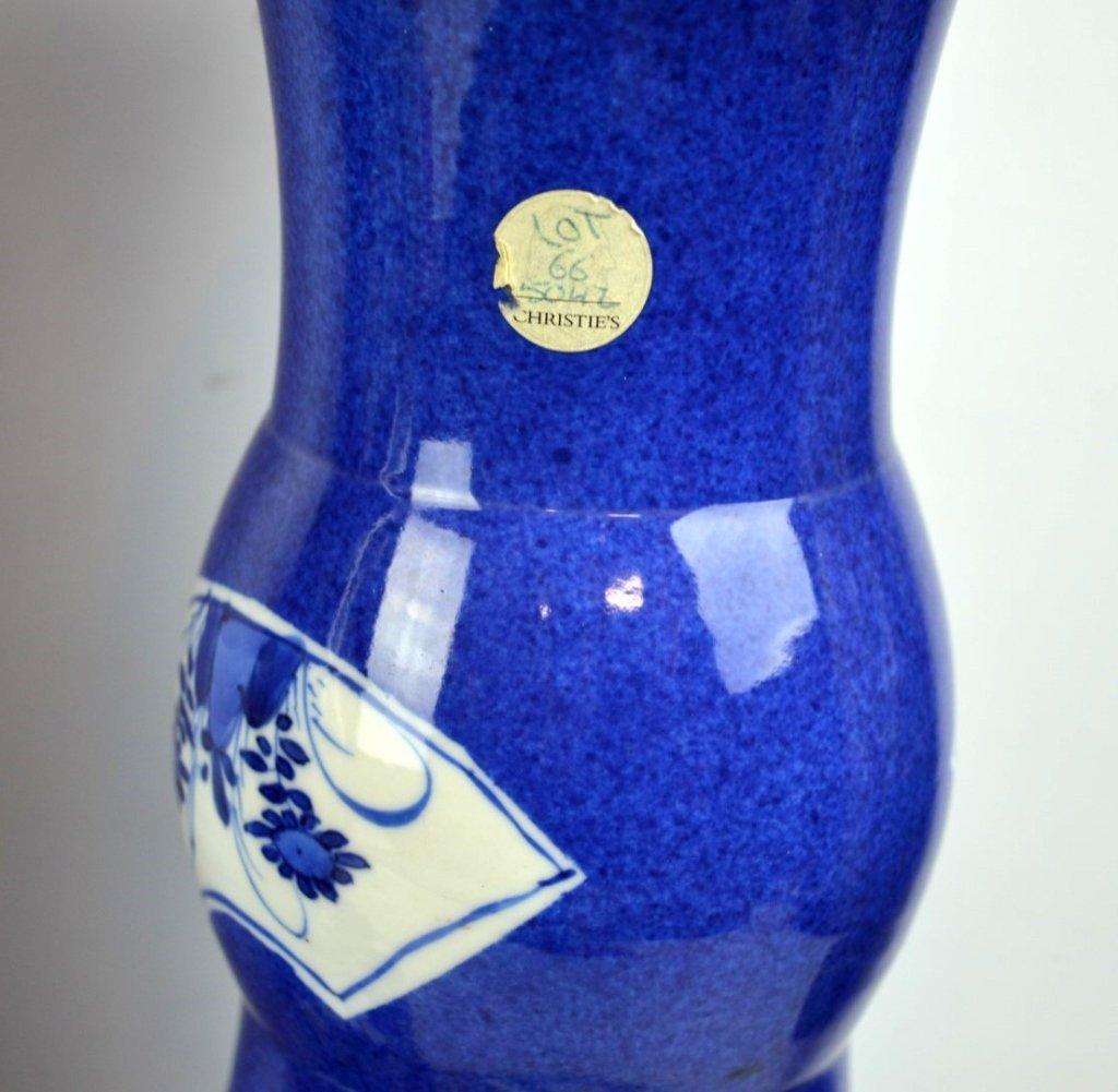 Christie's- Pr Kangxi Chinese Porcelain Vases - 7