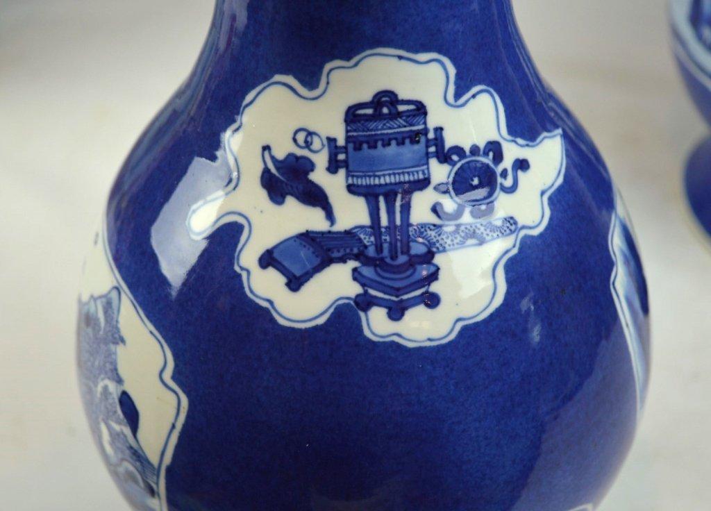 Christie's- Pr Kangxi Chinese Porcelain Vases - 8