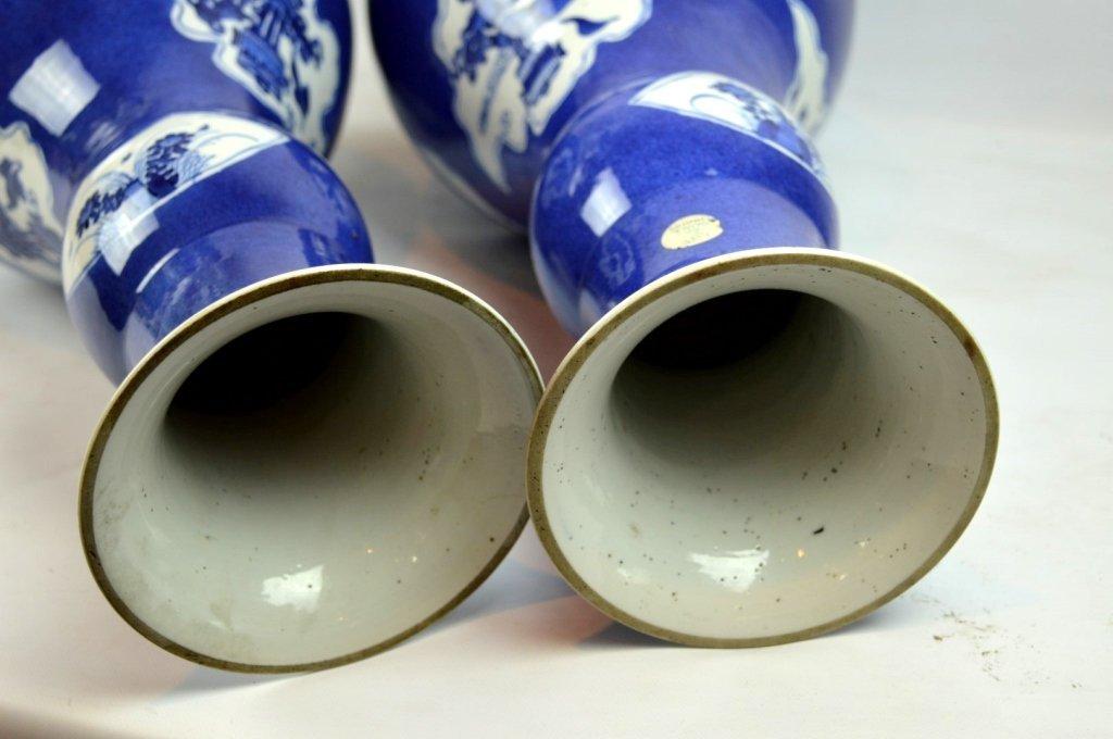 Christie's- Pr Kangxi Chinese Porcelain Vases - 9